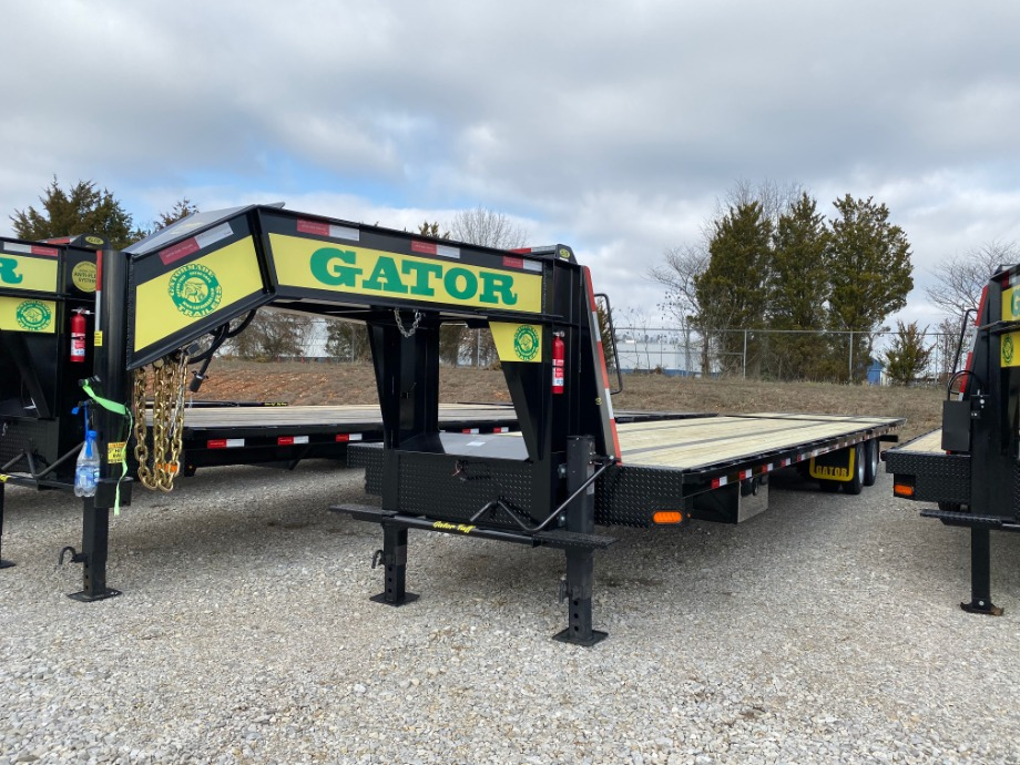 Air Ride Gooseneck Trailer With Hydraulic Dovetail Air Ride Trailers
