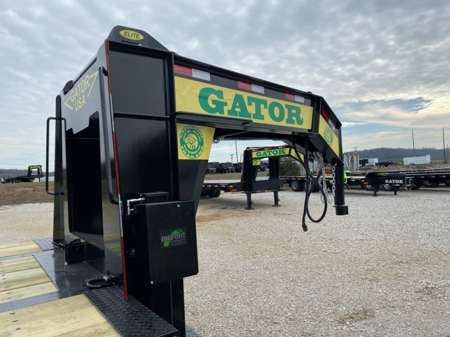 Air Ride Gooseneck Trailer With Triple Axles Air Ride Trailers
