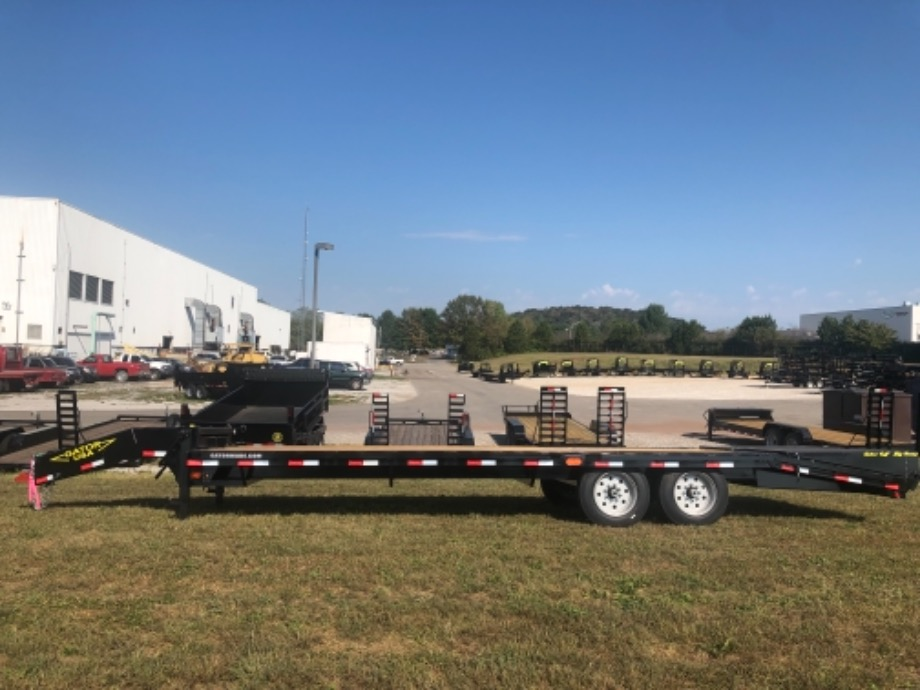 Pintle Trailer 25ft Flatbed By Gator Pintle Trailers